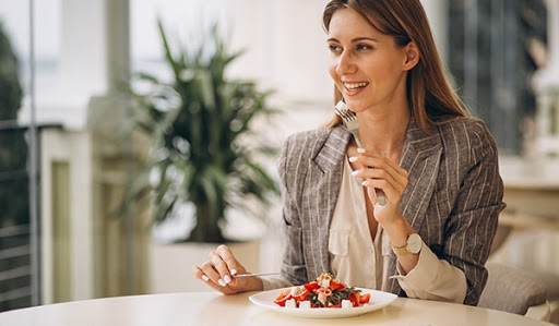 alimentación en el desempeño laboral
